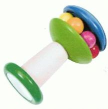 Lovely wooden rattle